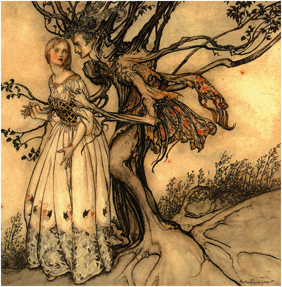 """The Old Woman in the Wood"""" by the Brother_s Grimm"""
